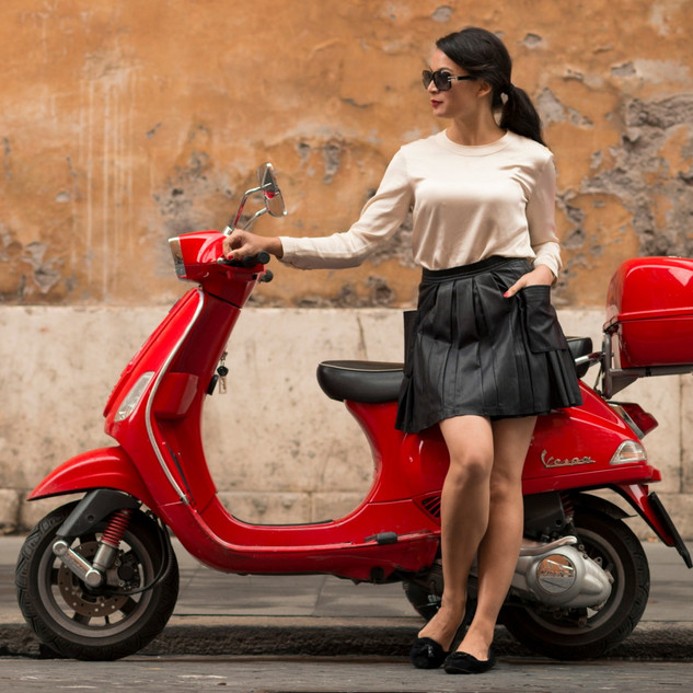 Hot Women and Scooters