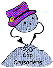 Cap Crusaders makes hats for Cancer Patiences