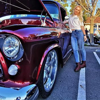 Classic Cars Female Driver