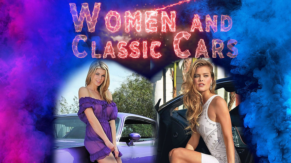 Women and Classic Cars Southern California