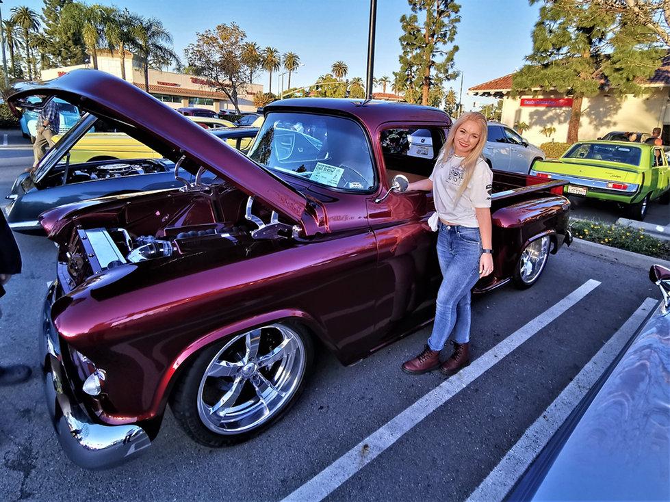 Classic Trucks and Women-Classic Cars an