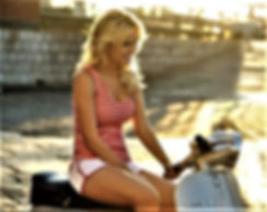 Vespa-Moped-Scooter Girl