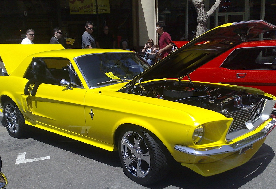 One more Ford Mustang