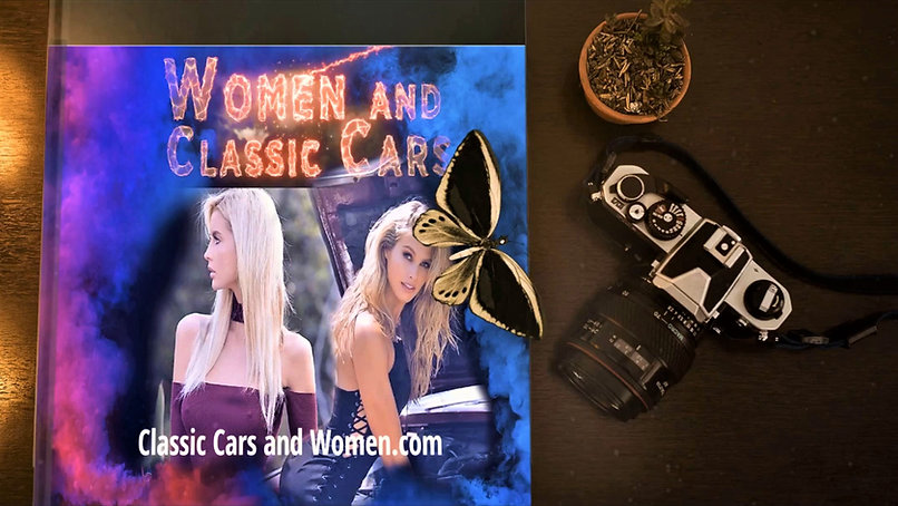 Classic Cars and Women-Hot Rods and Girl