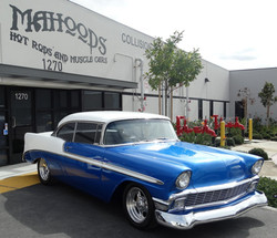 1956 Chevy at Mahoods