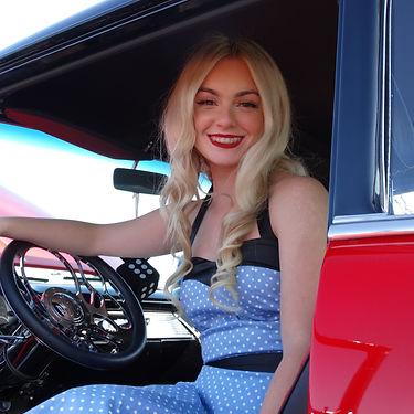 Hot Rods and Custom Cars-Classic Car Ladies 1.JPG