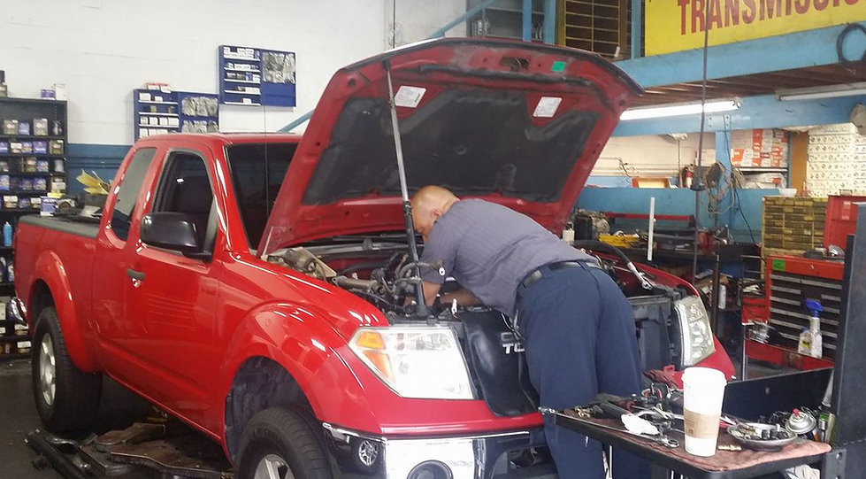 Our Mechanic Gabriel at Randys Automotive and Transmission in Anaheim, CA