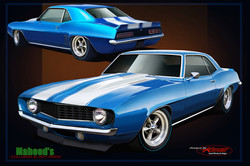 Building and painting this car