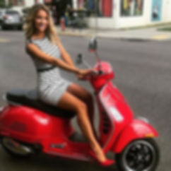 Hot Women and Scooters-Vespas-Mopeds
