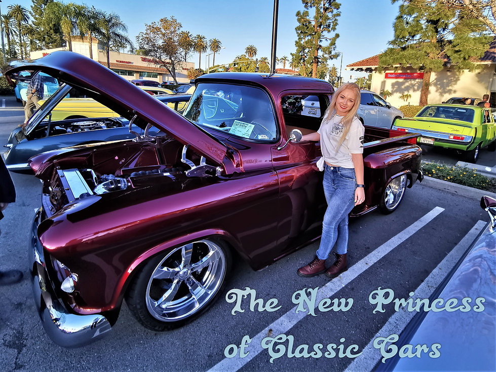 Classic Cars and Women-Girls and Classic