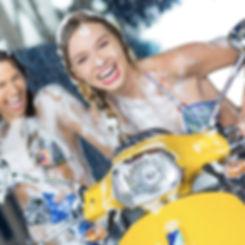 Vespa Scooter Women_Vespa Girls_Mopeds.j