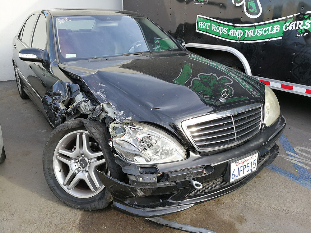 S 500 Mercedes Collision Job