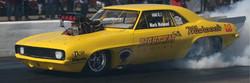 Mahoods Collision Race Car
