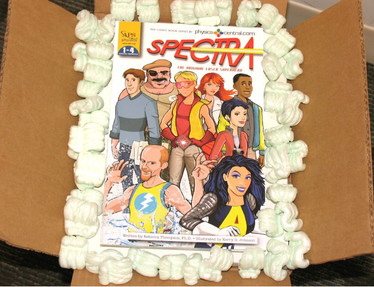 Spectra graphic novel