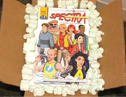 Spectra graphic novel