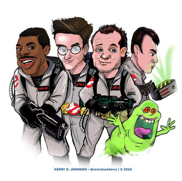 GhostBusters caricature