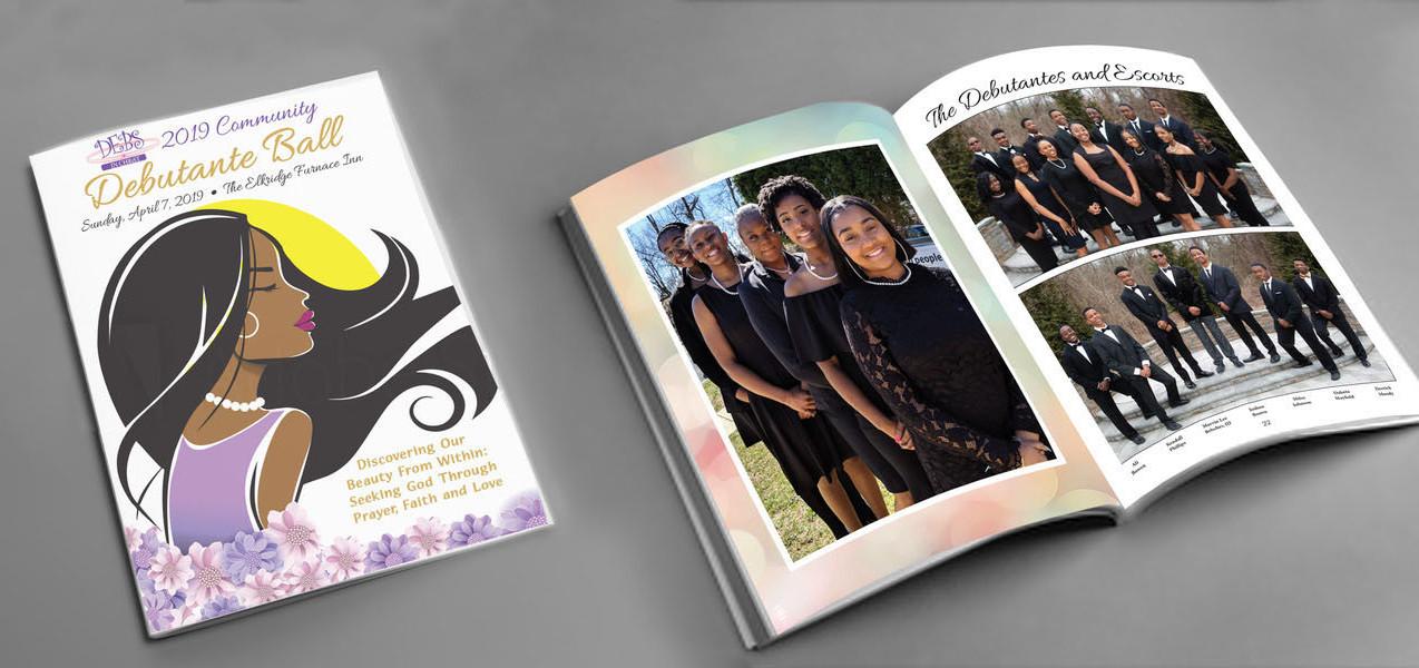 Debutante Ball program booklet