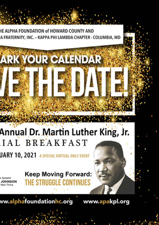 MLK 46th Breakfast Save The Date
