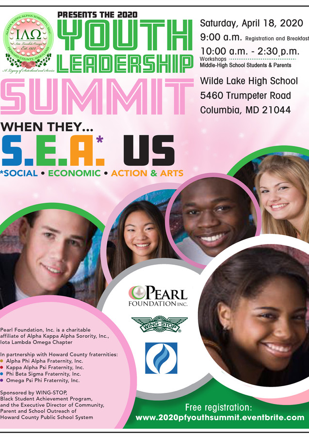 Youth Leadership Summit promotional flyer