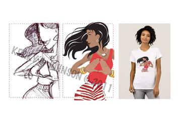 LOGO: Delta Sigma Theta shirt design