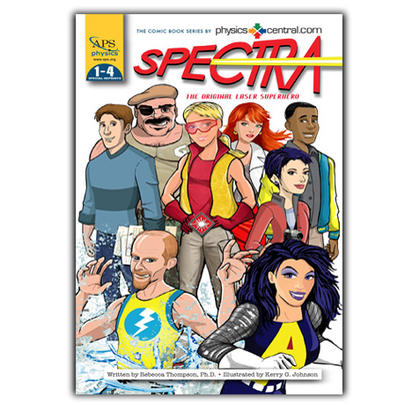 Spectra comic: Issues 1-4