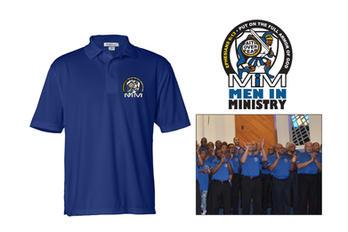 LOGO: Men In Ministry golf shirt
