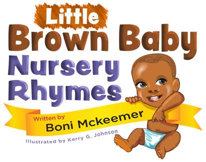LIttle Brown Baby Nursery Rhymes title artwork