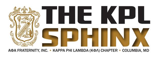 LOGO: Kappa Phi Lambda Sphinx newsletter