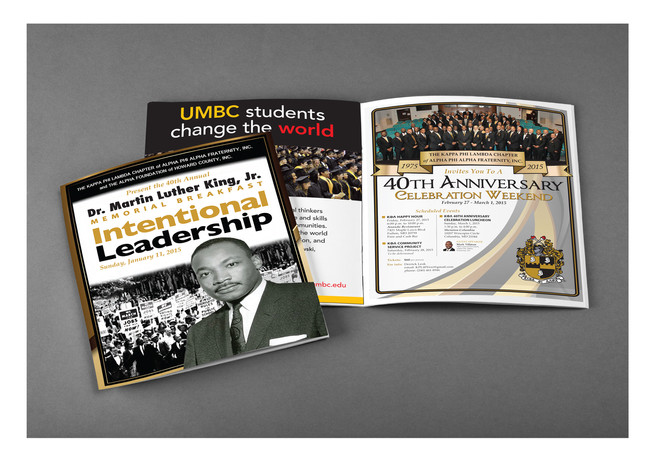 Program booklet for annual Dr. Martin Luther King, Jr. Memorial Breakfast