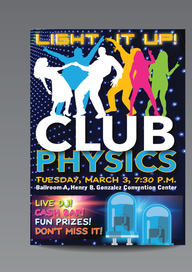 Light It Up! Club Physics Flyer