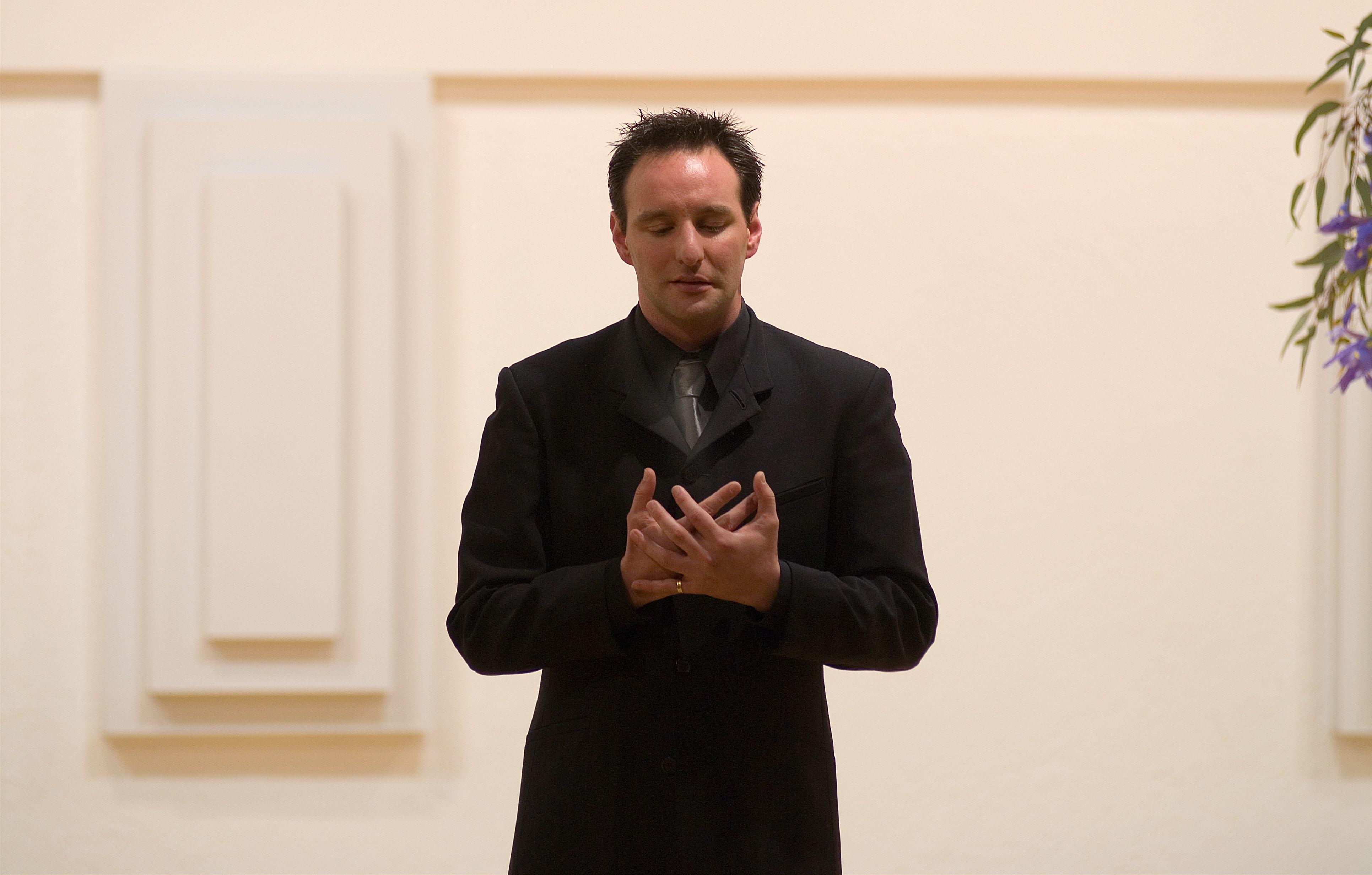Brad Cooper in Recital