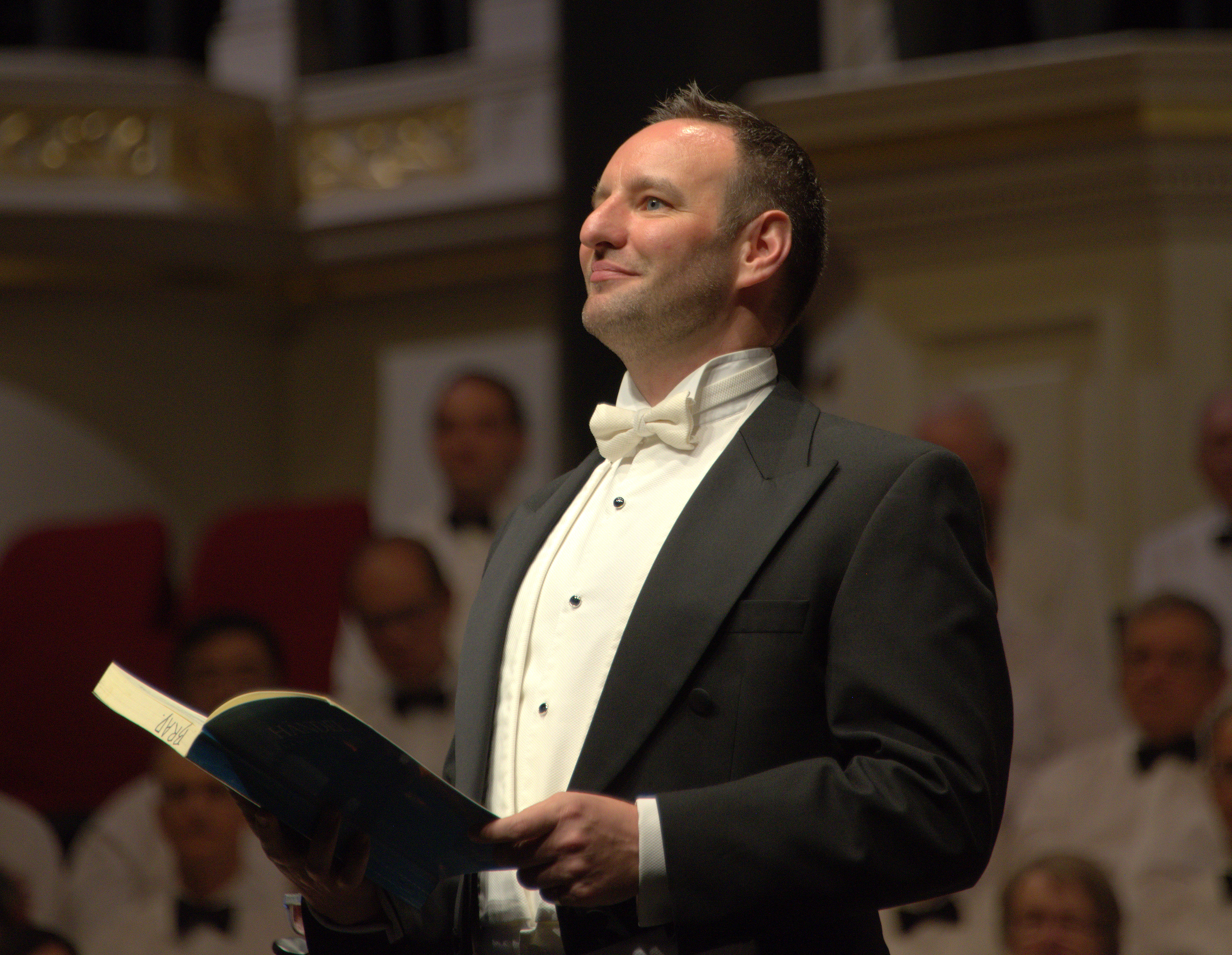 Brad Cooper tenor - Messiah at Sydney Town Hall 1