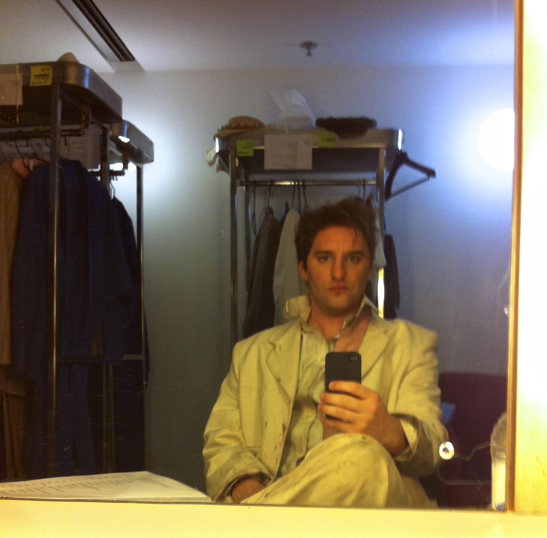 Herring Dressing Room Selfie
