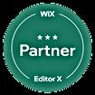 Badge Wix partenaire