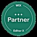 Badge Wix partner