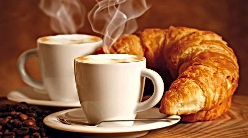 Café et viennoiseries