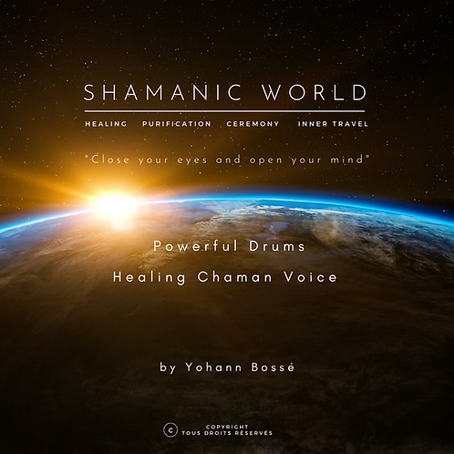 "Album ""Shamanic World"" par Yohann Bossé format mp3 à télécharger"