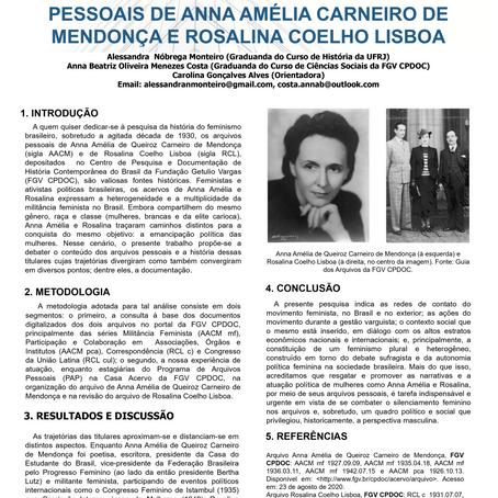 Alessandra Nóbrega Monteiro, Anna Beatriz Oliveira Menezes Costa