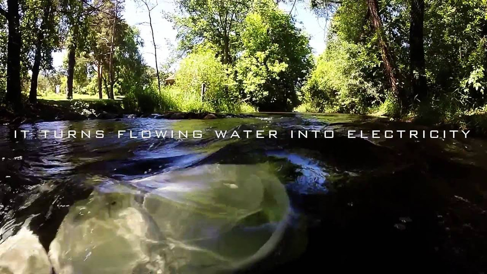 Turning water into power