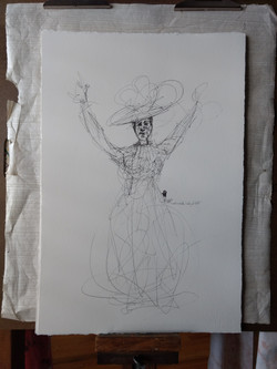 Unfinished Lady of Old