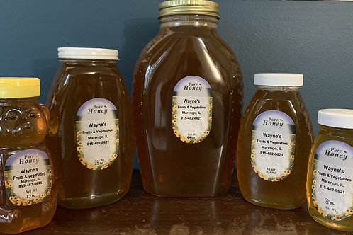Natural Local Honey(click for prices)