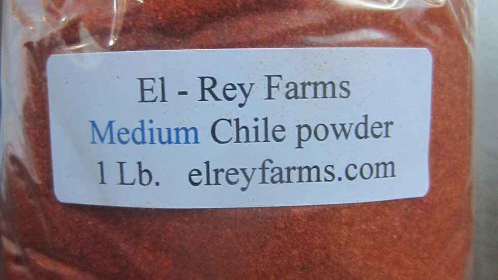 Hatch Medium Red Chile powder