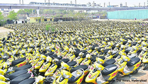 Bike Rental Company places all its two-wheelers on sale in Hyderabad!