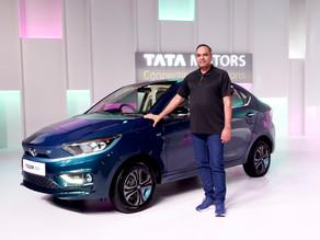 Tata Motors launches the All New Tigor EV Sedan at starting price of ₹11.99 Lakhs!