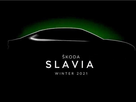 Škoda's new premium mid-size sedan for India will be called SLAVIA!