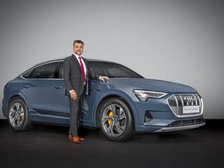 Audi India launches 3 electric SUVs - the e-tron 50, e-tron 55 and e-tron Sportback 55!