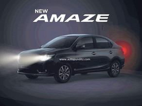 Honda Cars India opens bookings for the upcoming New Amaze!