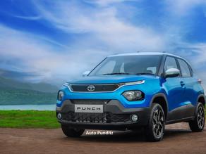 Tata Motors names its upcoming SUV as 'PUNCH'!