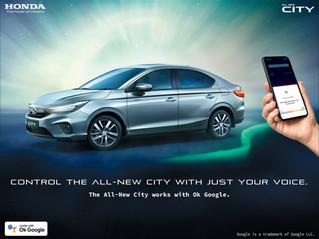 Honda Cars India introduces Google Assistant for 5th Gen Honda City!