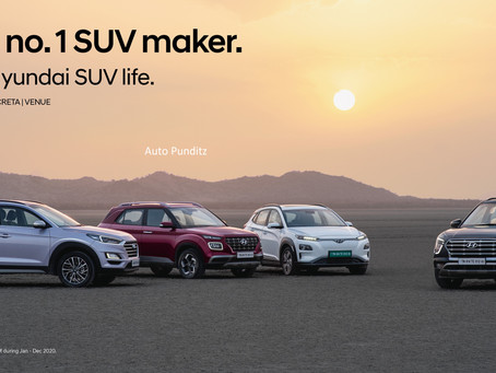 Hyundai Records achievement of over 1 Million 'Made in India' SUVs!